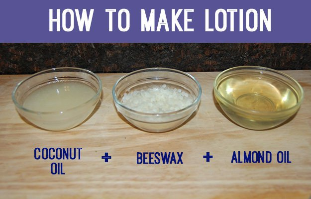 how-to-make-lotion-ingredients-coconut-oil-beeswax-almond-oil