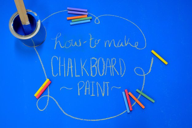 Best Chalkboard Paint | Making Chalkboard Paint at Home