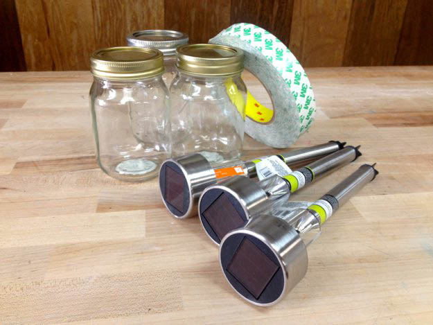 Dollar Store Crafts | How to Make Mason Jar Solar Lights