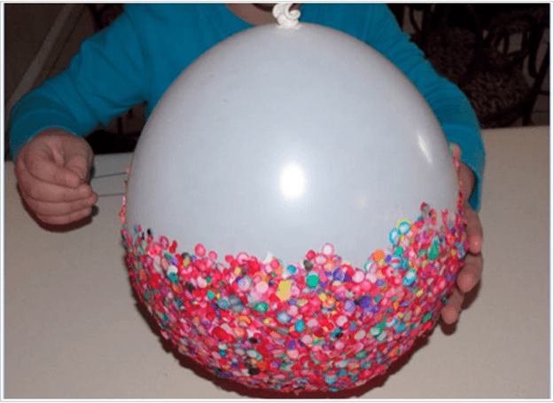 how to make a balloon bowl