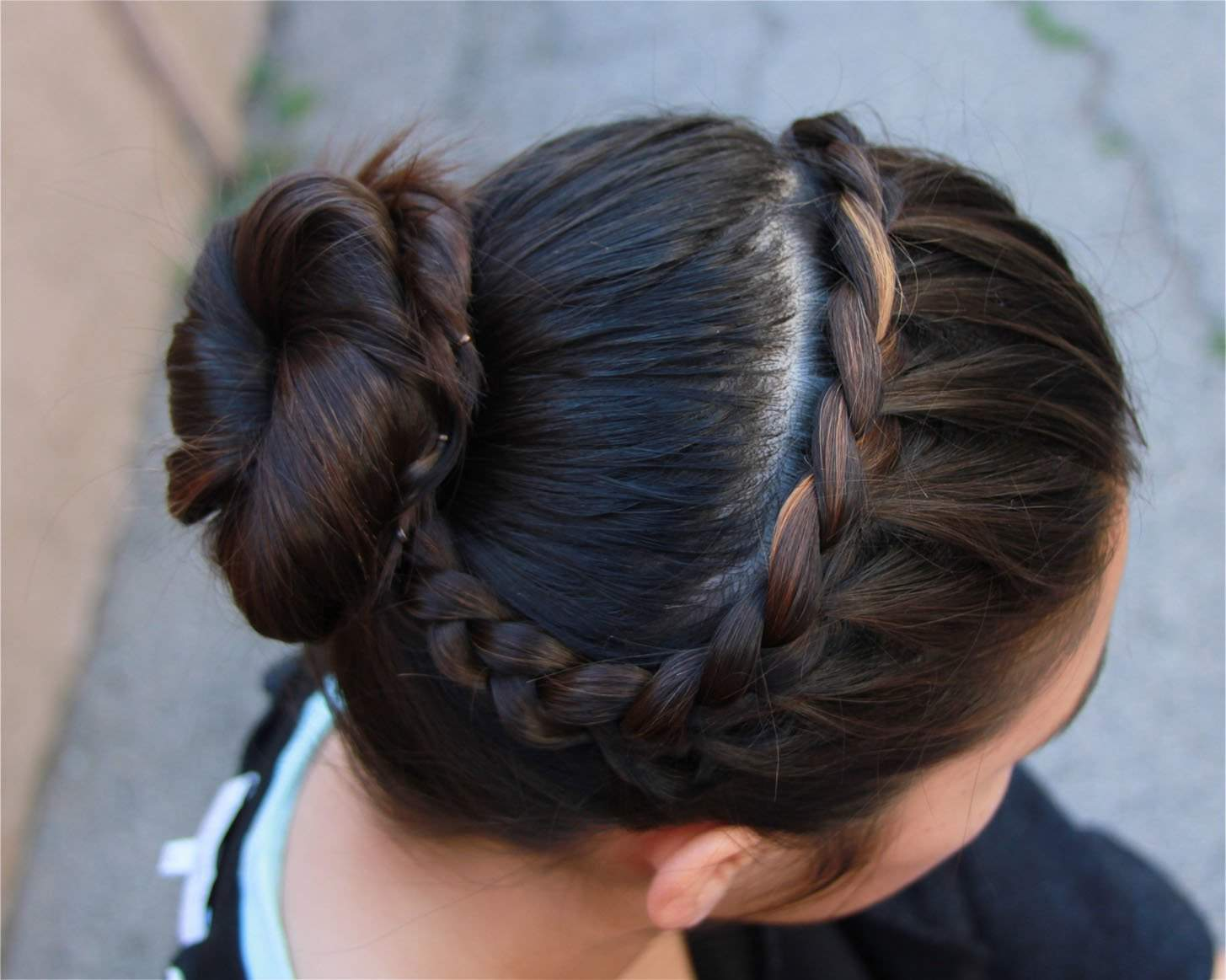 Cute Braided Bun Hairstyles For Short Hair : Easy buns and braided hairstyles unveiled fashion