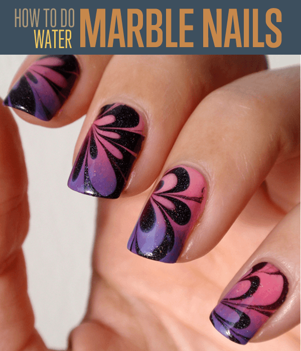 Marble Effect Nail Tutorial