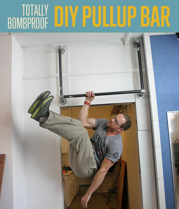 Proof Pullup Bar Diy Fitness