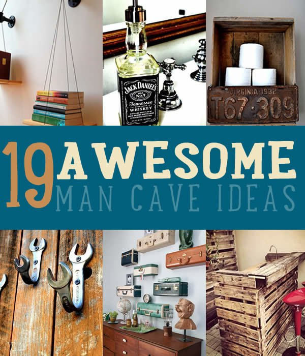 great diy ideas and more man cave ideas 19 diy decor
