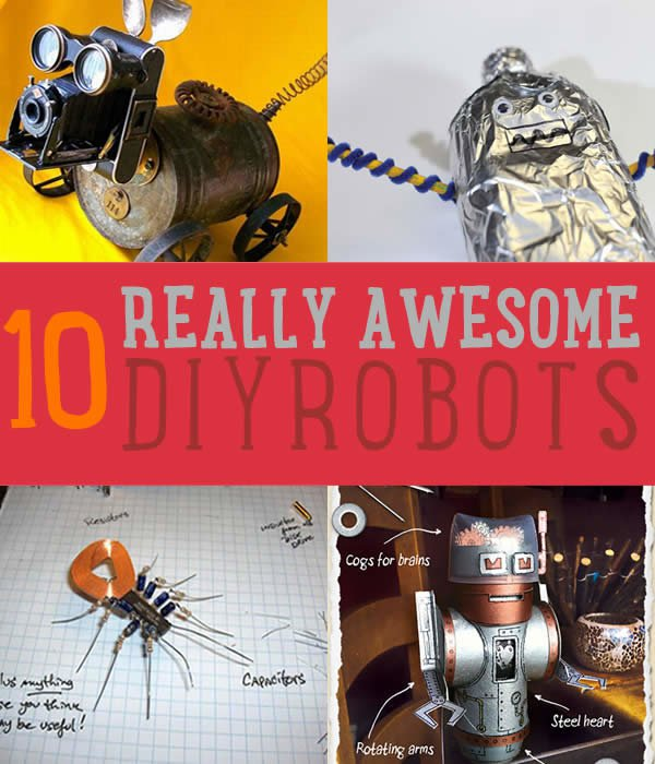 How To Make A Robot Easy Robot Projects Diy Ready