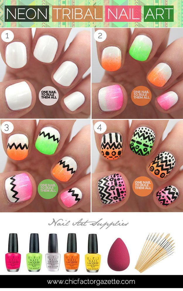 Easy Nail Art Designs | Ideas - Makeup Tutorials