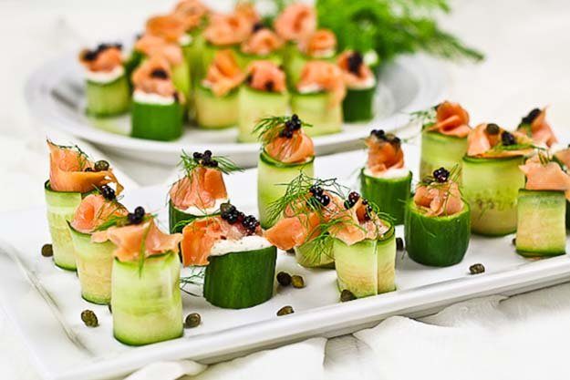 DIY-Finger-Foods-Smoked-Salmon-Cucumber-Rolls-1