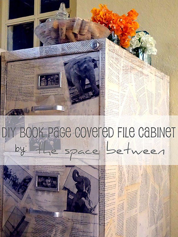 DIY-Projects-Repurposed-Crafts-Made-From-Old-Books 22