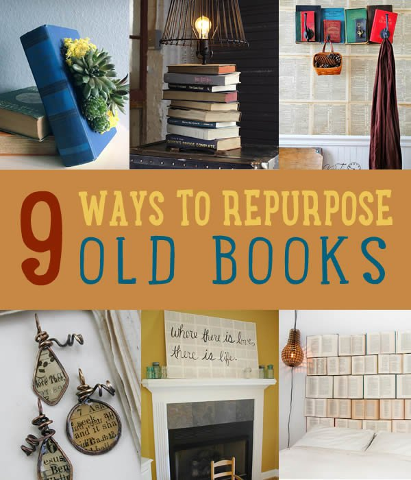 DIY Projects Made From Old Books | Art Of Upcycling
