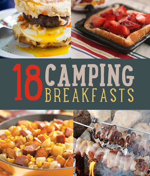 Easy Healthy Homemade Camping: 18 Mouthwatering Breakfast Recipes