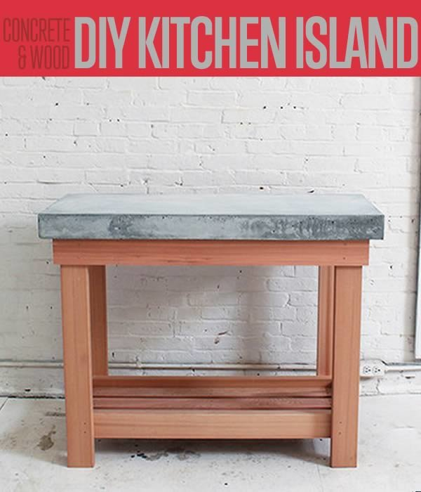 Kitchen Island Renovations build this diy rustic kitchen island | cheap kitchen renovations