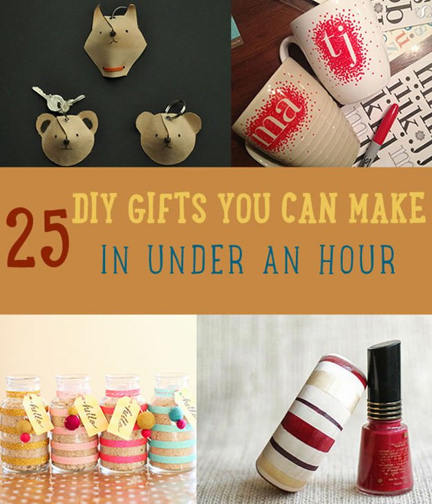 purple frogz diys 25 diy gifts you can make in under an hour
