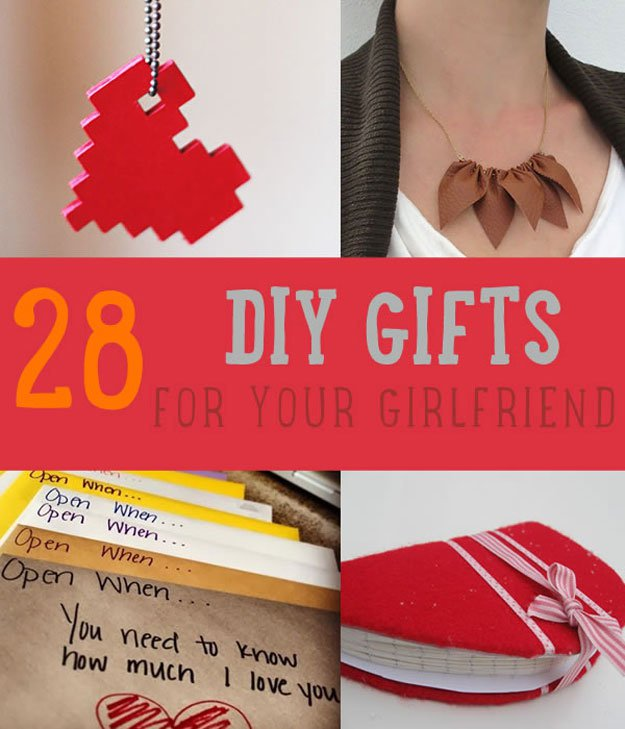 28 DIY Gifts For Your Girlfriend
