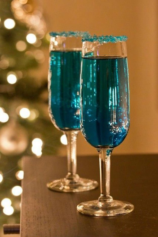 Best alcoholic drinks diy ready for Champagne mixed drinks