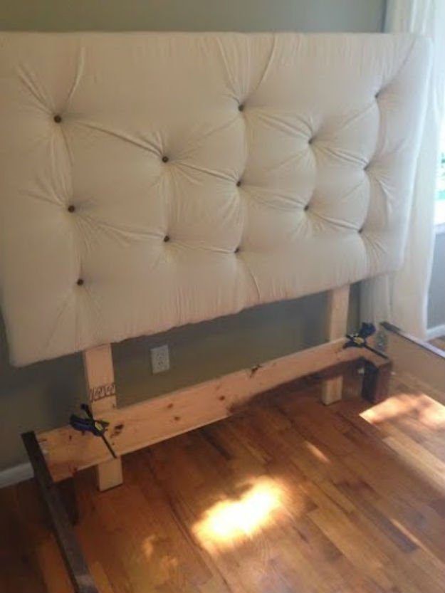How to build a diy upholstered headboard diy tutorial How to make your own headboard