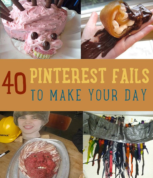 40 Pinterest Fails to Make Your DIY Day DIY Ready