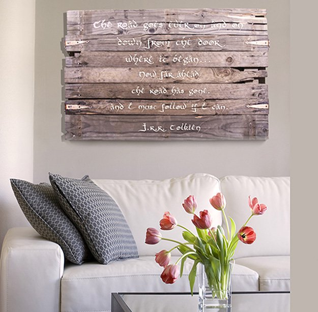Rustic DIY Inspiration Wall Art Quotes Cool Wall Art Ideas