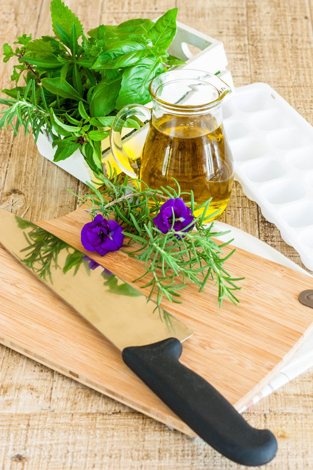Check out Freezing Herbs with Olive Oil for Long Lasting Flavor   How to Freeze Basil at https://homesteading.com/tfreezing-herbs-freeze-basil/