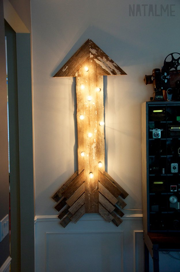 Diy Wall Decor Lights : Diy room decor with string lights ready