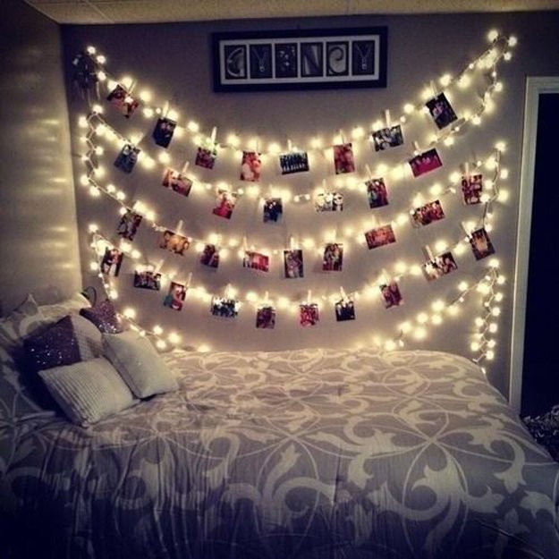 Diy Room Decor With String Lights Diy Ready