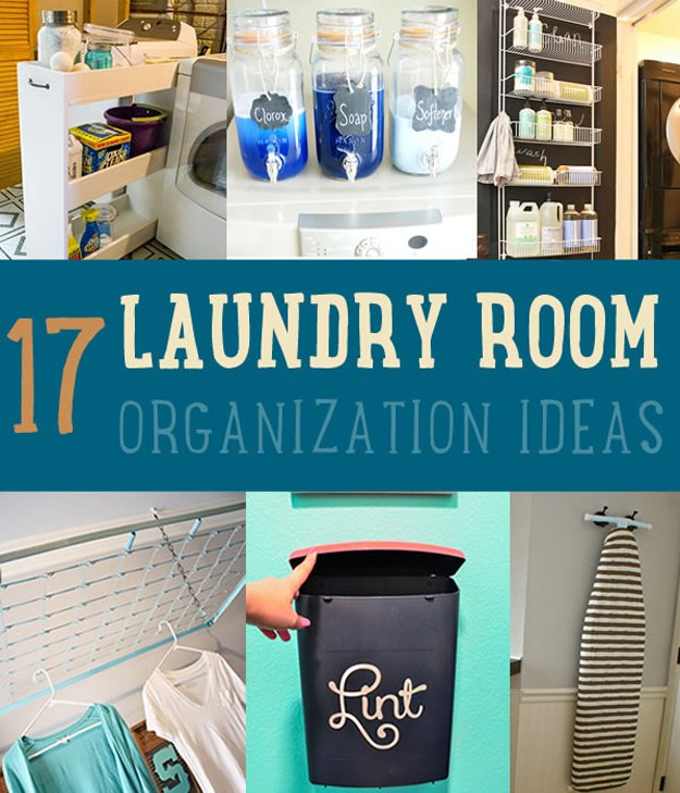 Diy organization ideas for your laundry room diy ready for Diy laundry room organization ideas