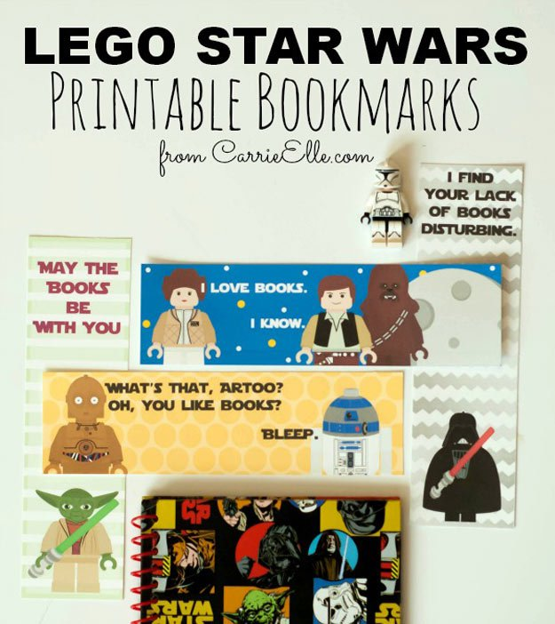 This is an image of Luscious Star Wars Bookmarks Printable