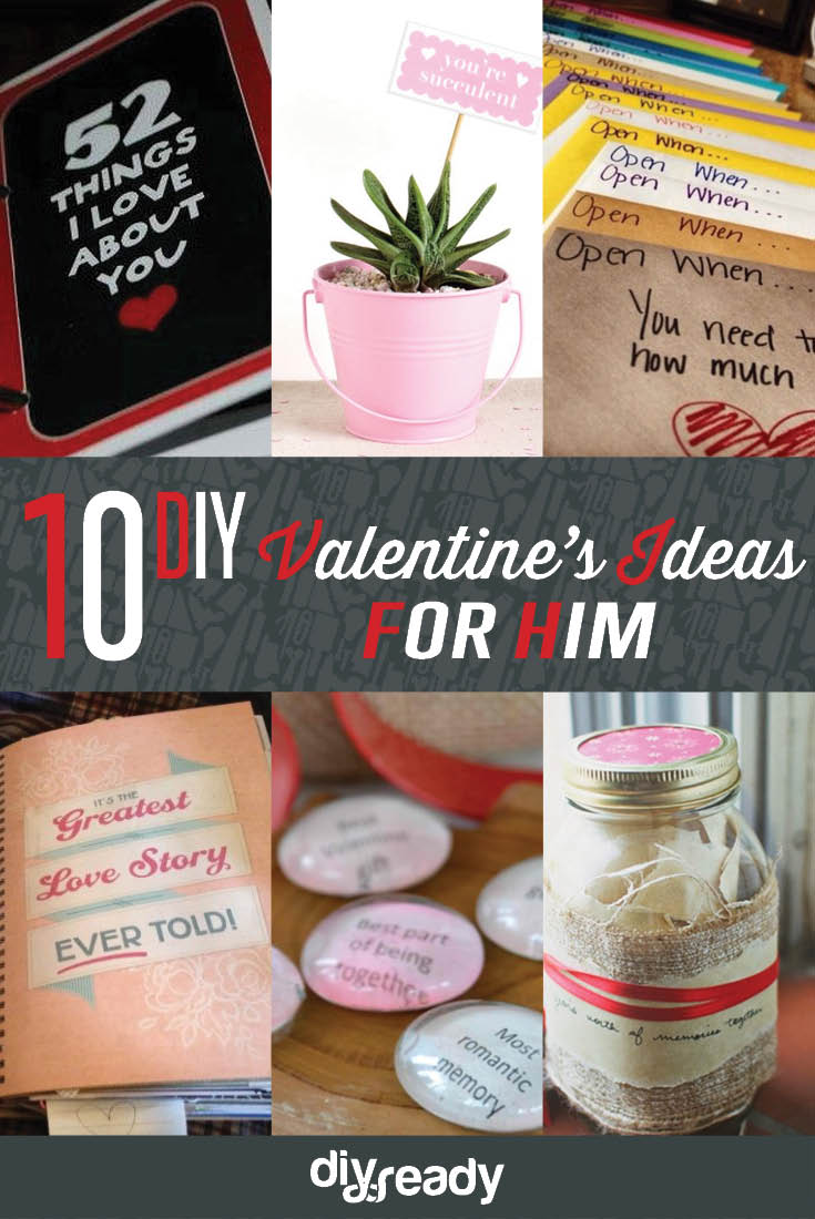 10 valentines day ideas for him diy ready for Valentines day gifts for him ideas
