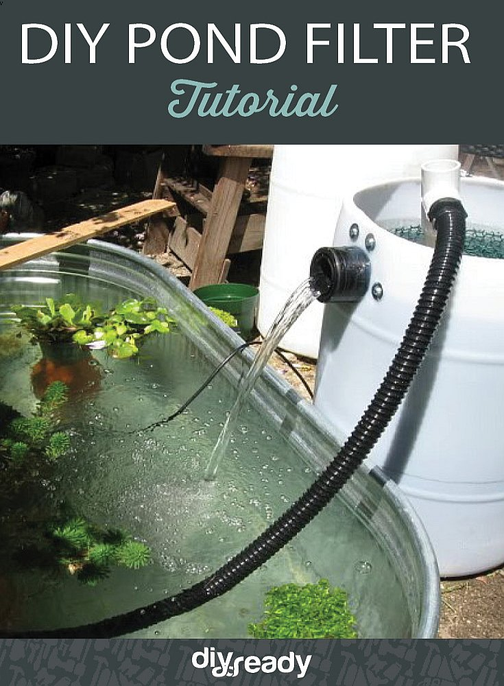 Diy pond filter tutorial diy ready for Koi pond filter diy