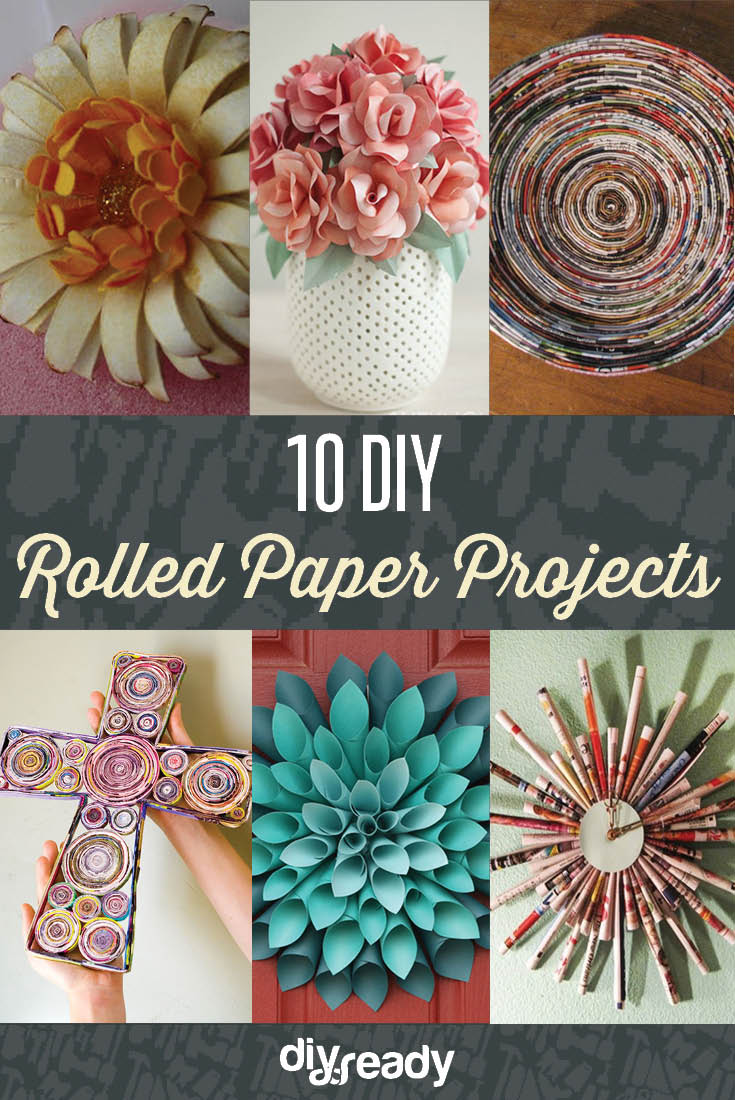 10 diy rolled paper crafts from recycled magazines for Rolled magazine paper crafts
