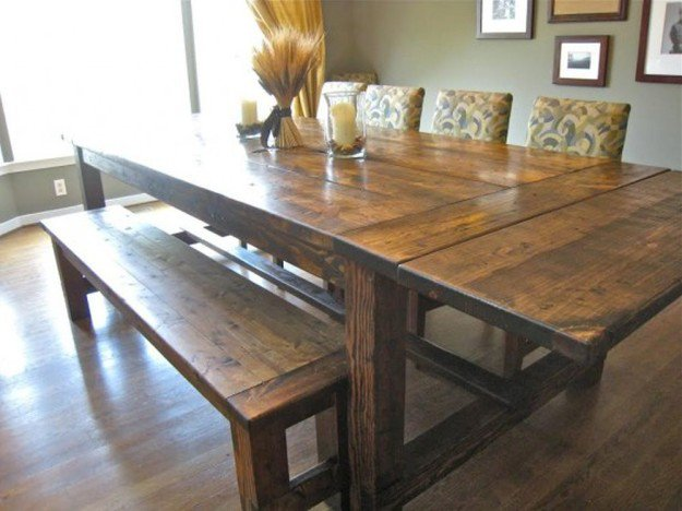 making a dining room table | How to Make a DIY Farmhouse Dining Room Table