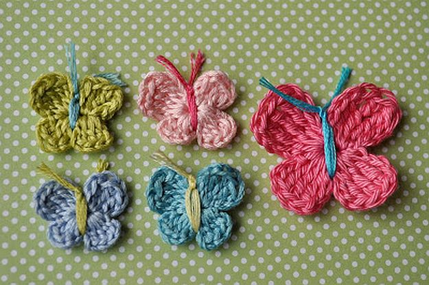 Crochet Butterfly | 24 Easy Crochet Patterns For Beginners To Get Started With